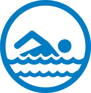 pool sign icon